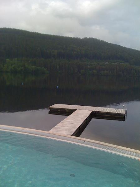 Pool and Lake Titisee