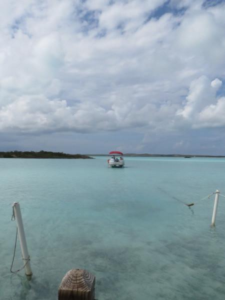 Boat in TCI