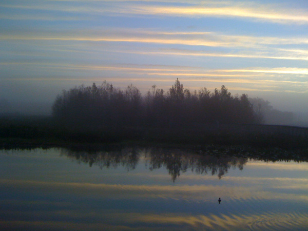 Sunrise at Green Cay Nature Center