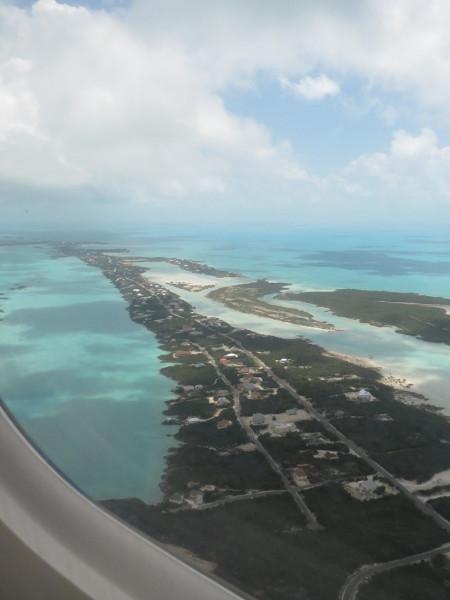 Aerial seascape