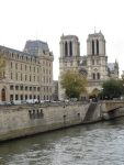 Notre Dame across the Seine River