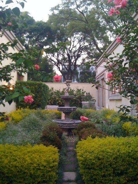 Private garden in Johanesburg